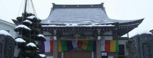 お寺の年末
